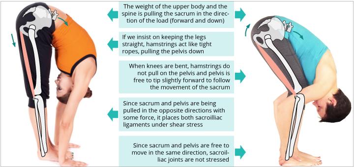 Sacroiliac joint shear stress