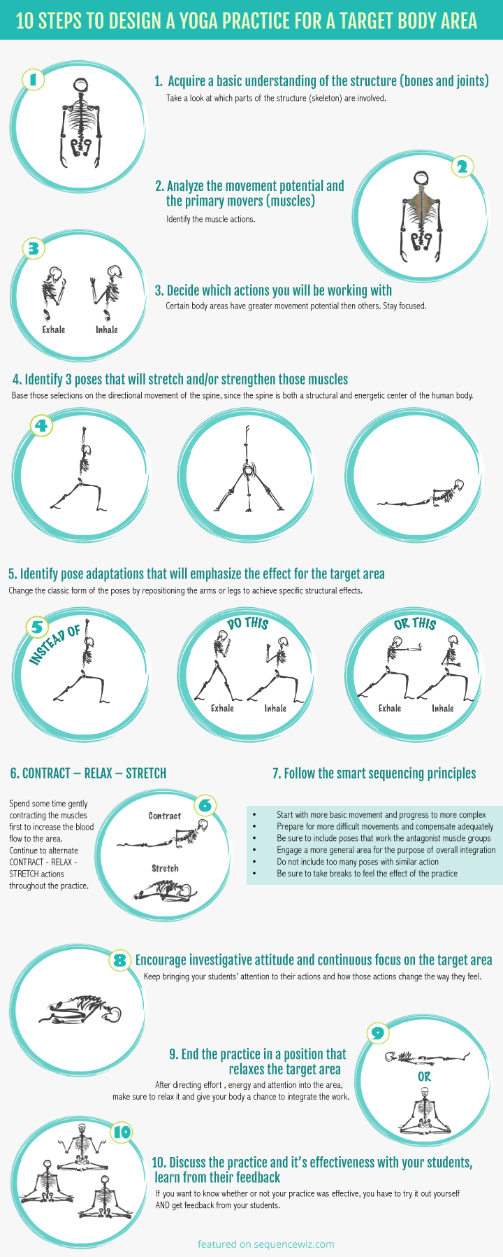 Yoga for a Target Body Area