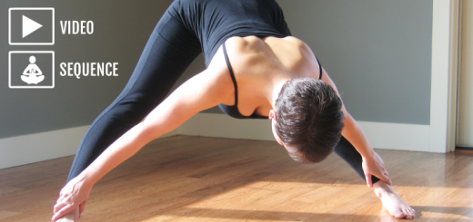 Home yoga practice for the hips _adductors_abductors
