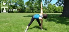Yoga for running and hiking (before the activity)