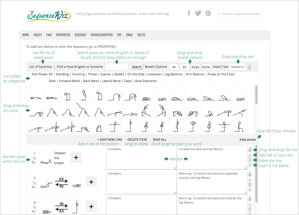 Yoga Sequence Builder Quickly Design Custom Practices