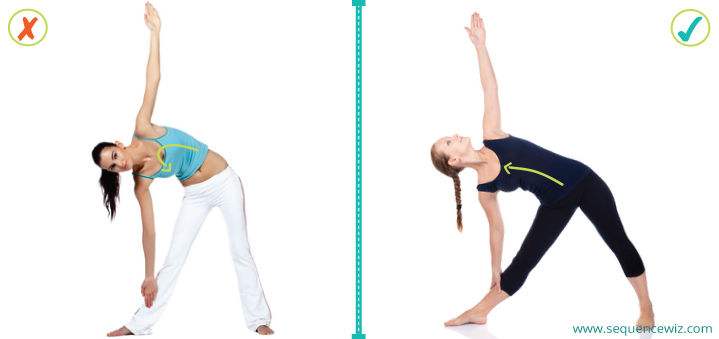 Avoid benefits of yoga poses_Chest Collapse