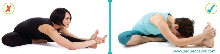 Avoid benefits of yoga poses_Lifting the chin