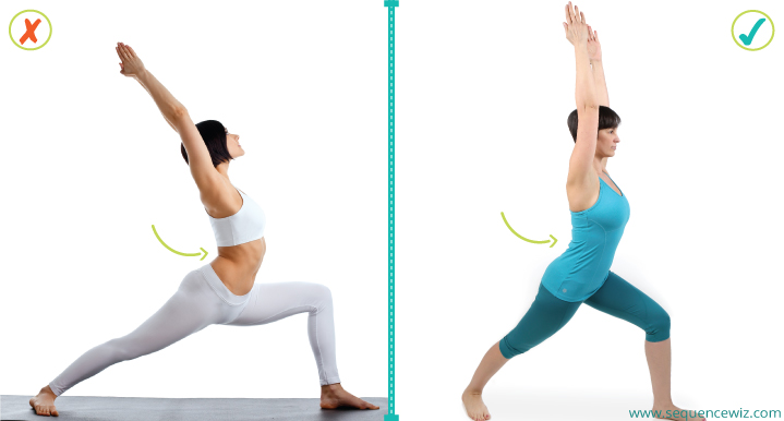 Avoid benefits of yoga poses_Exaggerated lumbar curve