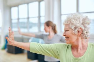 Yoga for older students