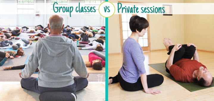 Yoga classes vs Private yoga sessions