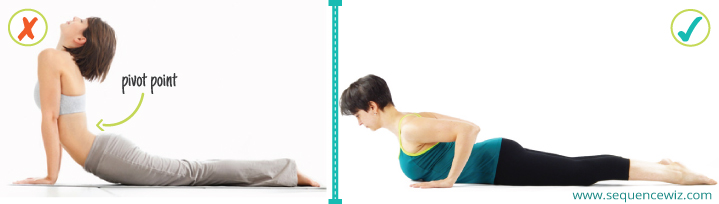 Benefits of yoga_Cobra pose