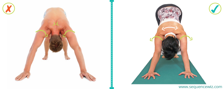 Benefits of yoga_Shoulder rotation in DDog