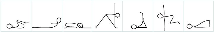 Workhorse yoga poses