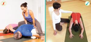 Yoga adjustments title