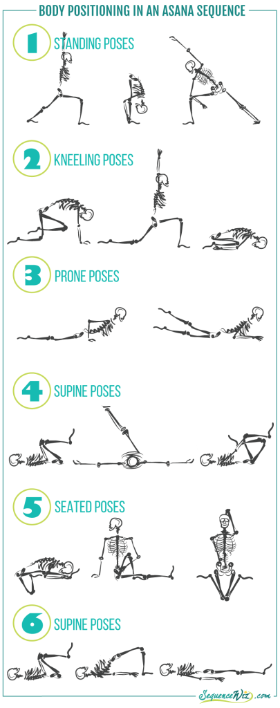 Body Position In Asana Sequence