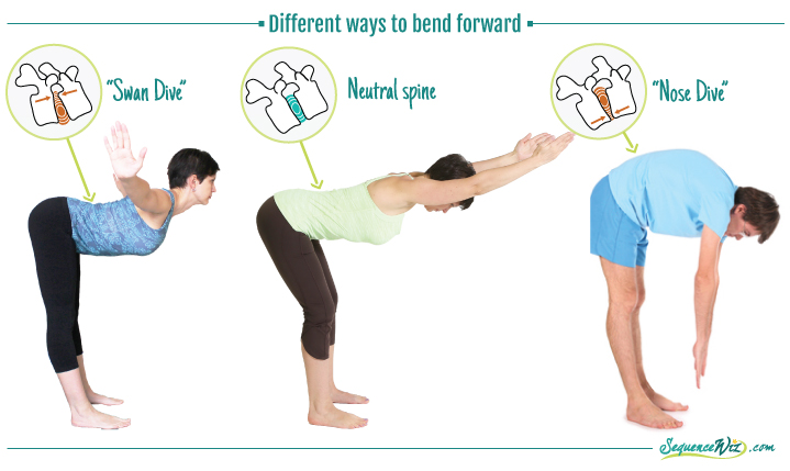 Ways To Bend Forward