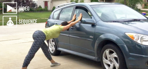yoga for car trips