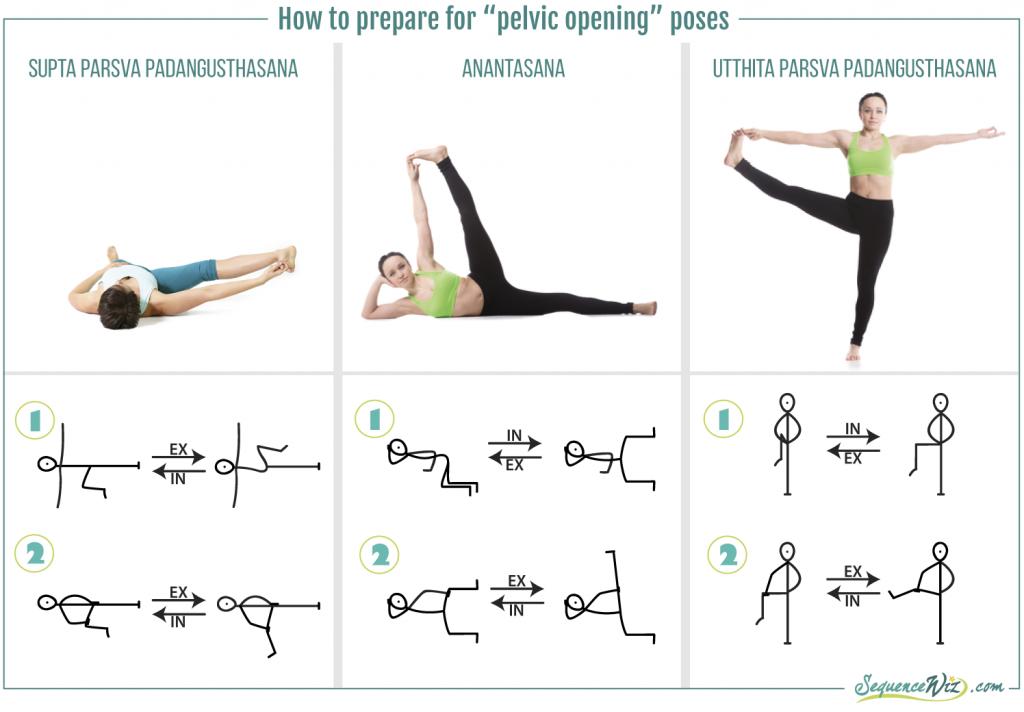 Pelvic Opening Poses