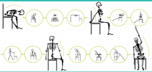 Chair yoga poses title