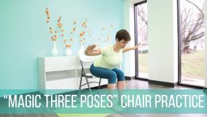 Magic three chair