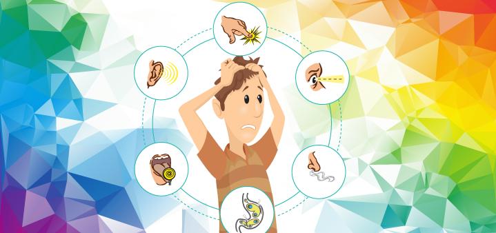 Five mental activities _senses