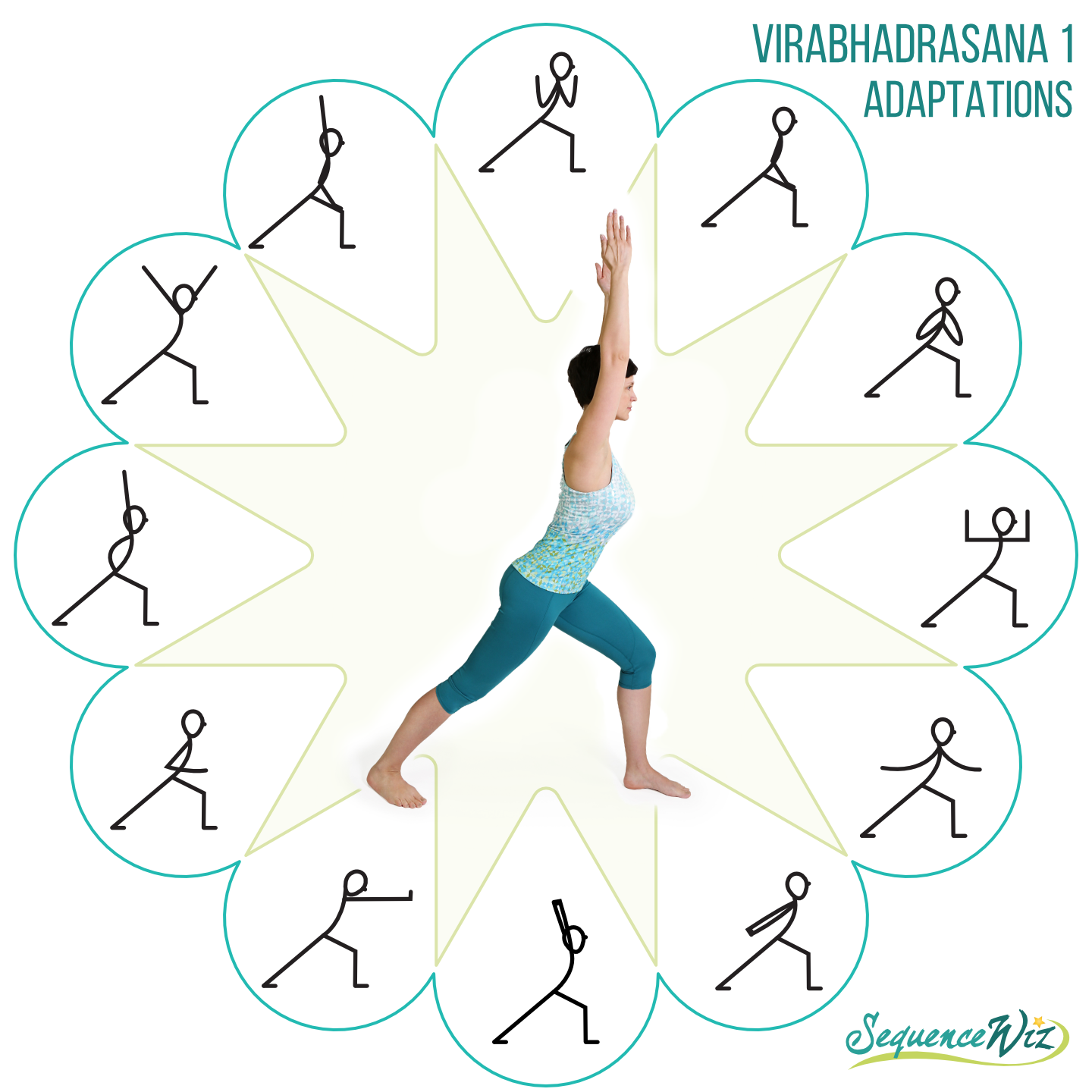 How to adapt yoga poses