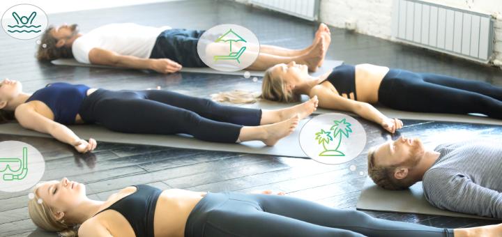 yoga visualizations