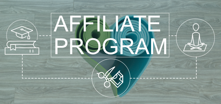Affiliate program for yoga teachers